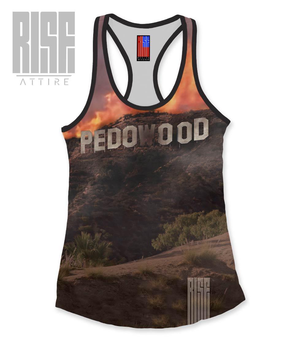 Pedowood Burning Womens Tanks