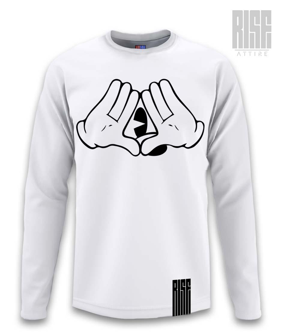 MMC Mens Unisex Long Sleeve Tee/Sweater Rise Attire