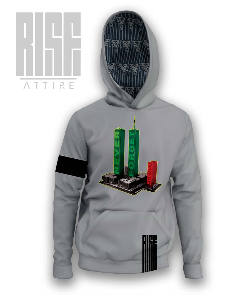 Never Forget [7] Hoodie Rise Attire