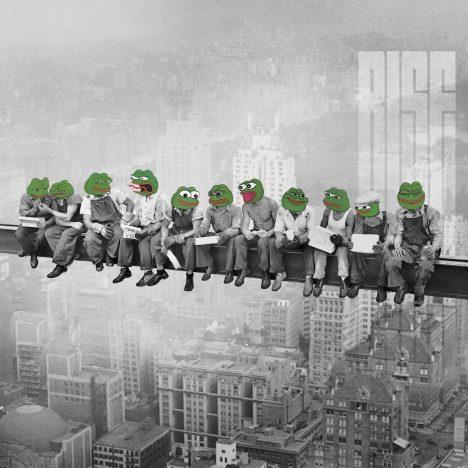 Pepes On A Skyscraper