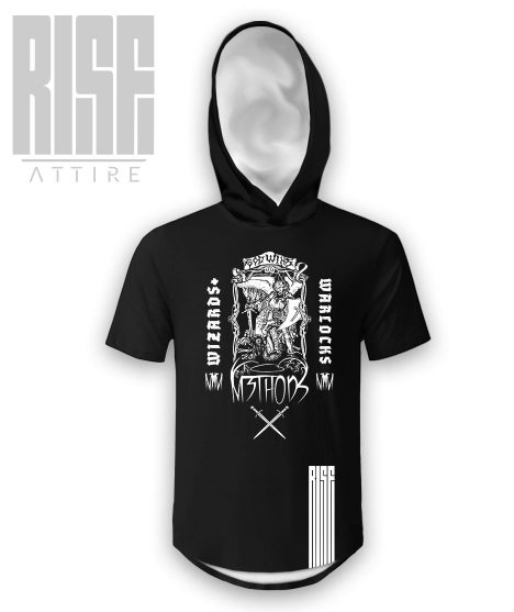 Wizards and Warlocks Hooded Scoop Cut Tee Rise Attire