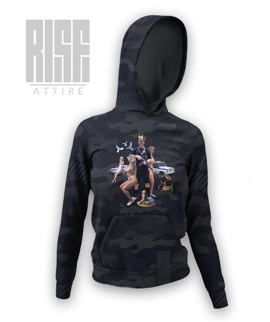 Guile Rittenhouse womens hoodie RISE ATTIRE
