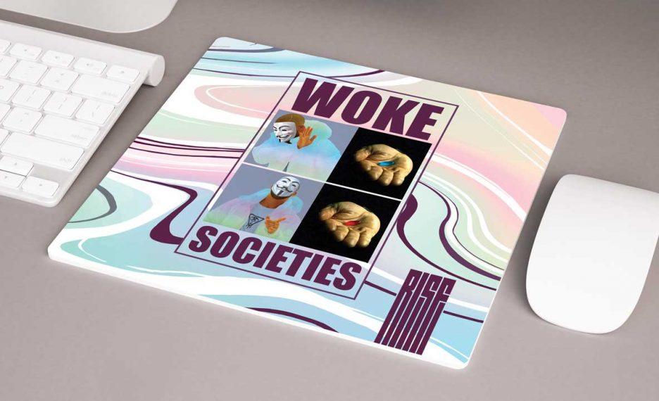 Woke Societies Technicolor Mousepad Rise Attire
