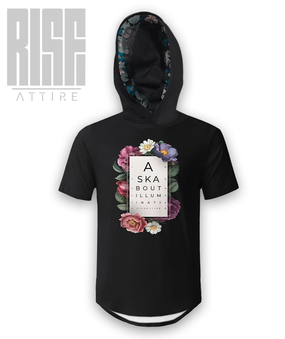 Ask Ye Shall Receive hooded Scoop Tee // RISE ATTIRE