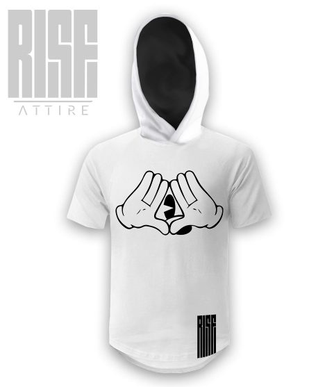 Micky Mouse Club Hooded Scoop Tee // RISE ATTIRE